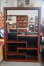 Jarrah Open Bookcase