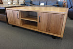 Lynwood Chestnut 2 Door TV Unit