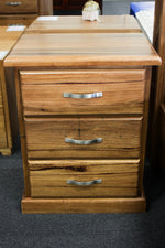 Donnelly Chestnut 3 Drw Bedside
