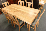 Santros Chestnut 1800 Dining Table