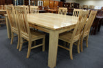 2000 SQ 9 Piece Dining Suite