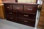 Rosewood 7 Drw Low Chest