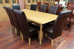 Santros Oak 2100 9 Piece Dining Suite