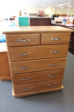 Santros Oak 6 Drw Tall Chest