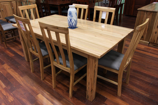 Vic Ash 1800 7 Piece Dining Suite