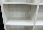 2 Drawer White Bookcase (1300W)
