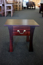York Jarrah Lamp Table