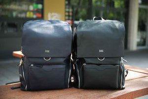 PREORDER: KENZIE Leather Backpack - Black or Midnight Blue