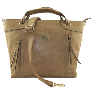 Perry Mum Tote - Camel