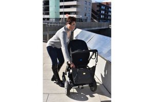 Perry Mum Tote - Charcoal