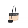 Sofia Work Handbag - Black/Blush
