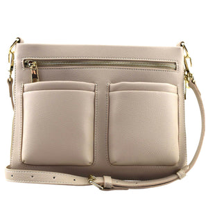 Tegan Crossbody Bag - Stone