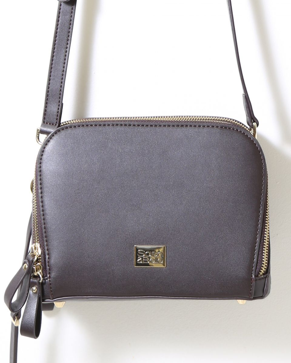 Eden Crossbody Bag - Chocolate