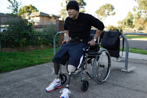 Meet Khoa - proving there are no limits to life beyond adversity