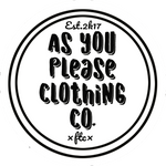 As You Please Clothing Company