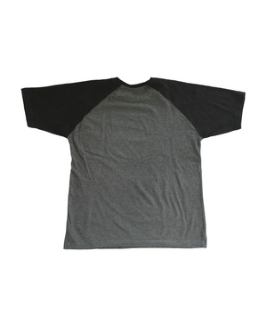 """DRIP"" Raglan Tee (Black/Grey)"