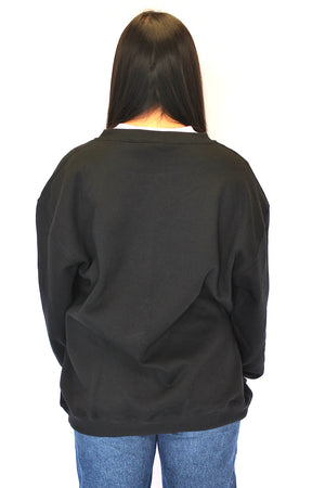 Heart breaker Crew Neck jumper - Black