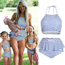 Load image into Gallery viewer, Mother Daughter Womens Bikini Set