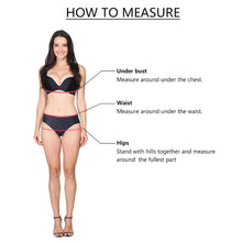 Load image into Gallery viewer, Women High Waist Bandage Hollow Push Up Bikini Set