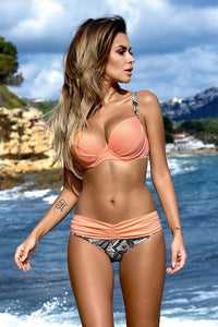 Sexy Womens Swimwear Bathing Suit  Push-Up Bandage Beachwear