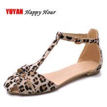 Load image into Gallery viewer, 2019 Leopard Print Flat Heel