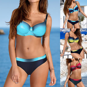 Padded Push-up Bra Bikini Set