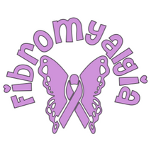 Load image into Gallery viewer, Fibromyalgia warrior decal