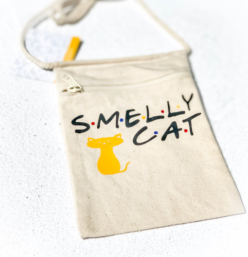 Friends - smelly cat inspired tote bag