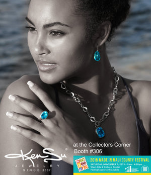 KenSu Jewelry at the 2nd Annual Made in Maui Festival