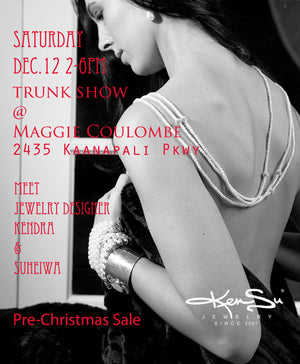 KenSu Jewelry Pre Christmas Trunk Show