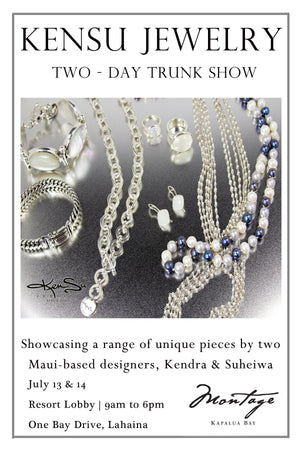 KenSu Jewelry at the Montage Kapalua Bay Trunk Show