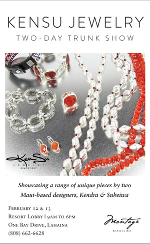 KenSu Jewelry at the Montage Kapalua Bay Valentines Trunk Show