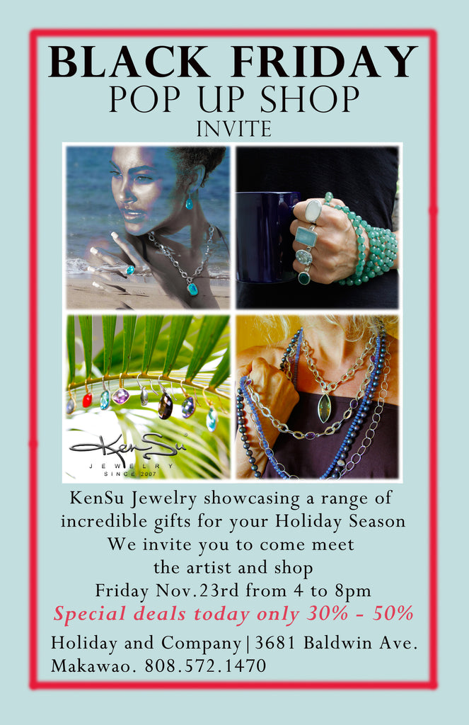 KenSu Jewelry Black Friday Event
