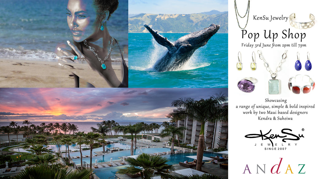 KenSu Jewelry Pop Up Shop at the Andaz Maui