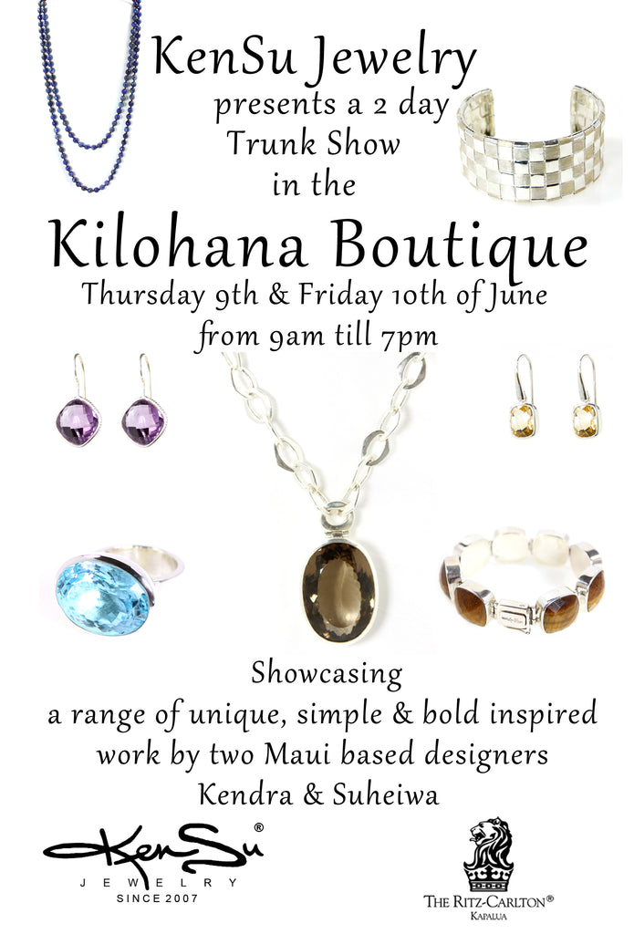 KenSu Jewelry Trunk Show In The Ritz Carlton Maui