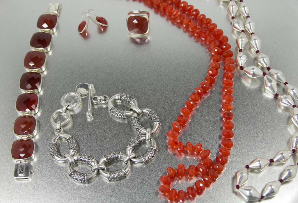 KenSu Jewelry Carnelian Collection