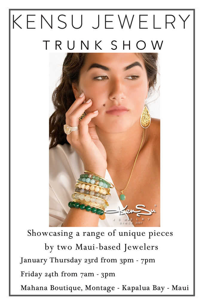 KenSu Jewelry at the Montage Maui