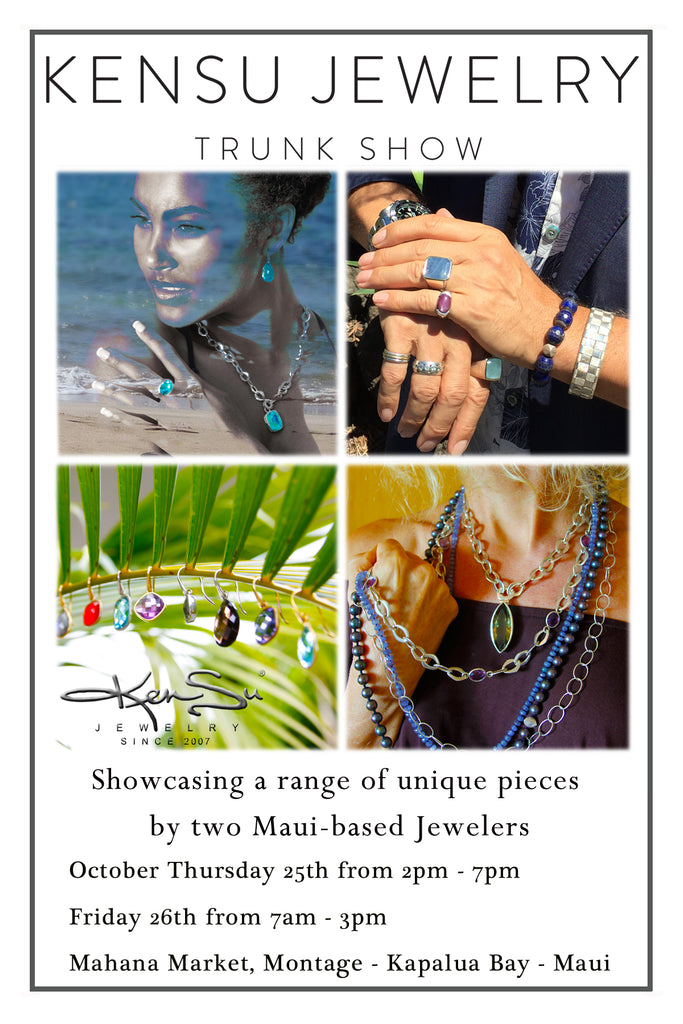 KenSu Jewelry Pop Up Shop Montage Kapalua Maui