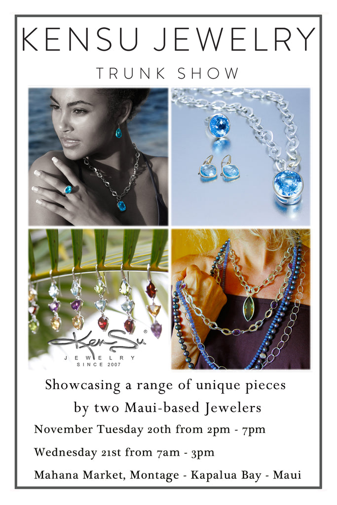 KenSu Jewelry at the Montage Kapalua Maui