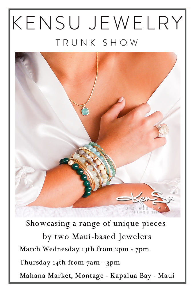 KenSu Jewelry Trunk Show in the Montage Kapalua Bay