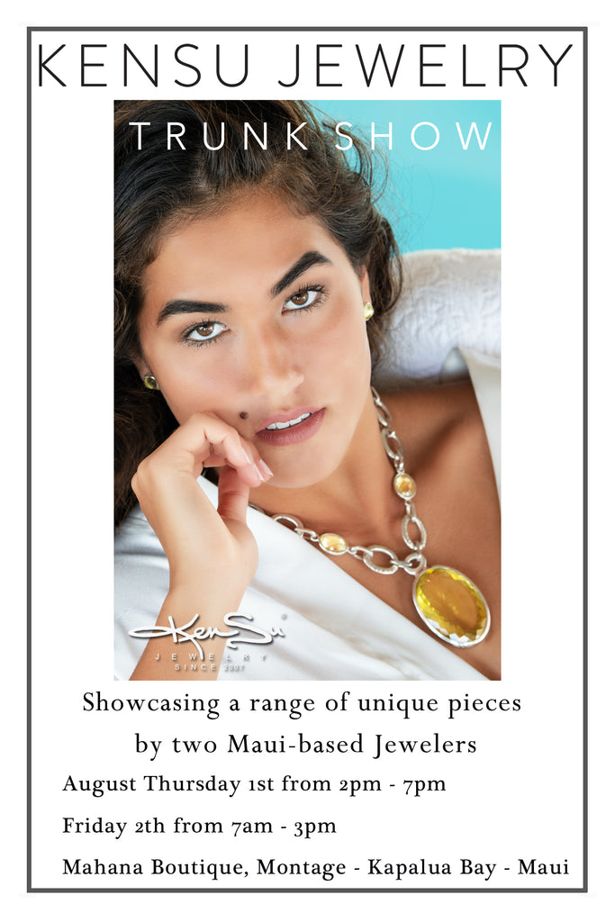 KenSu Jewelry @ the Montage Kapalua