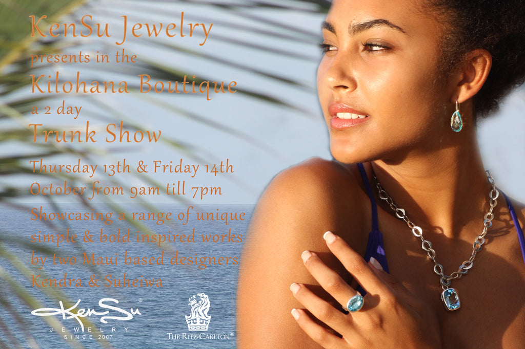 "KenSu Jewelry @ the ""Kilohana Boutique"""
