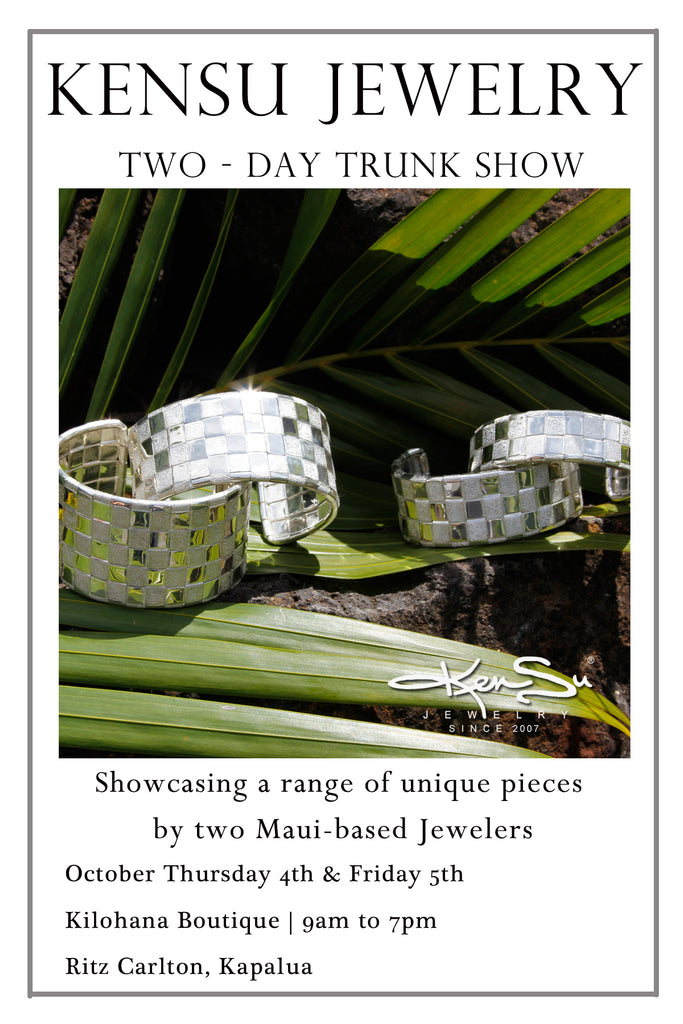 KenSu Jewelry at the Kilohana Boutique Ritz Carlton Maui