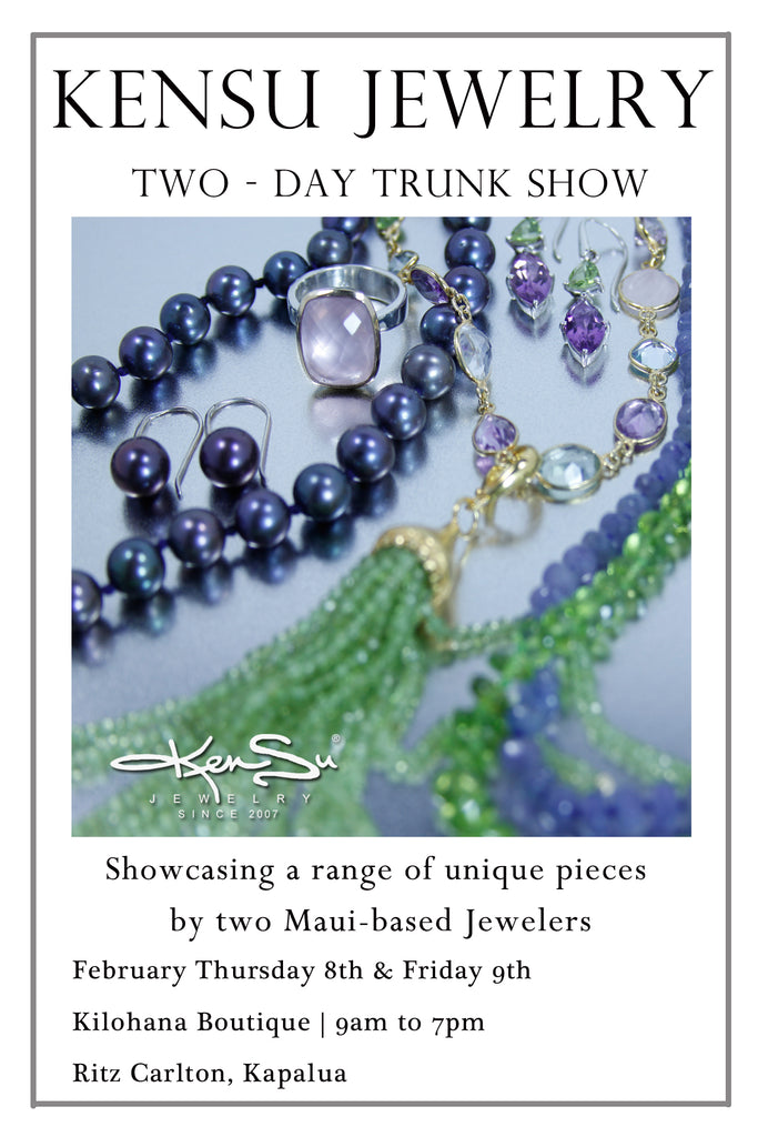 KenSu Jewelry in the Ritz Carlton Kapalua