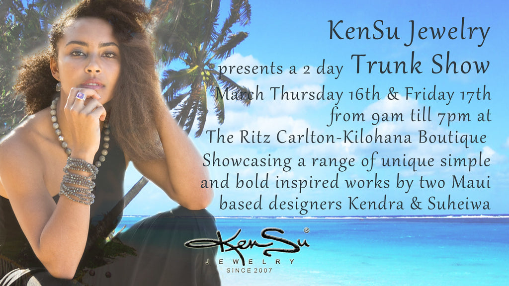 KenSu Jewelry at the Kilohana Boutique Ritz Carlton