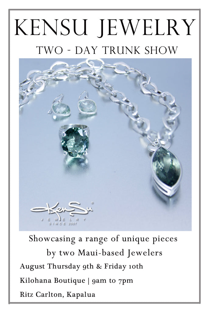 KenSu Jewelry in the Ritz Carlton Maui