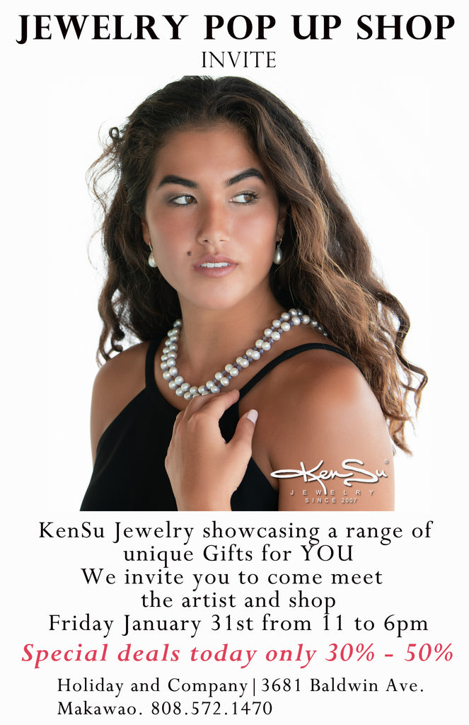 KenSu Jewelry Pop Up Shop