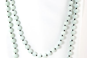 "Amazonite 56"" Necklace- Signature Collection"