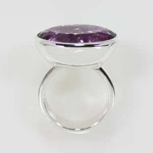 Amatrine Large Oval Bowl Ring - Bold Collection