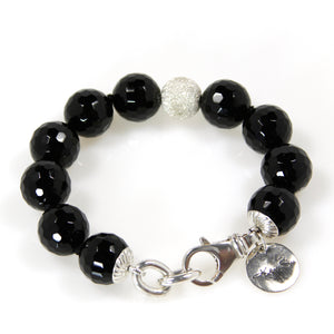 Black Onyx 14mm Bracelet - Signature Collection